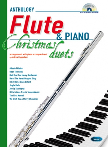 Anthology Christmas Duets For Flutes & Piano: Book & CD