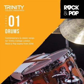 Trinity Rock & Pop 2018 Drums Grade 1 CD Only