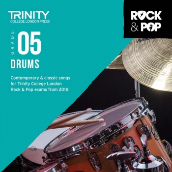 Trinity Rock & Pop 2018 Drums Grade 5 CD Only