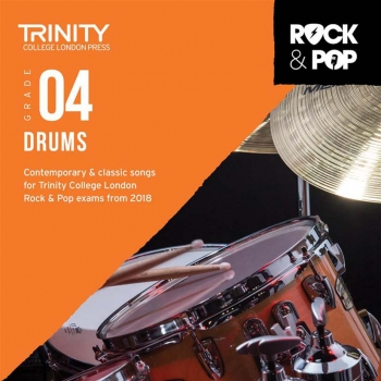 Trinity Rock & Pop 2018 Drums Grade 4 CD Only