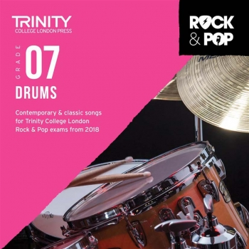 Trinity Rock & Pop 2018 Drums Grade 7 CD Only