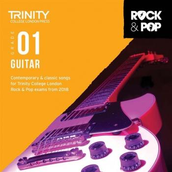 Trinity Rock & Pop 2018 Guitar Grade 1 CD Only