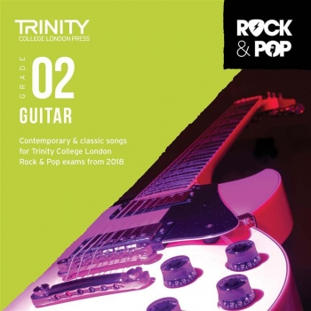 Trinity Rock & Pop 2018 Guitar Grade 2 CD Only