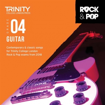 Trinity Rock & Pop 2018 Guitar Grade 4 CD Only