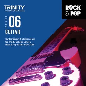 Trinity Rock & Pop 2018 Guitar Grade 6 CD Only