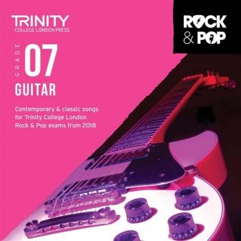 Trinity Rock & Pop 2018 Guitar Grade 7 CD Only