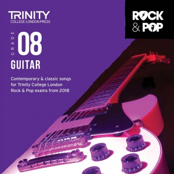 Trinity Rock & Pop 2018 Guitar Grade 8 CD Only