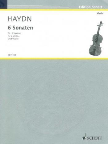6 Sonatas For 2 Violins