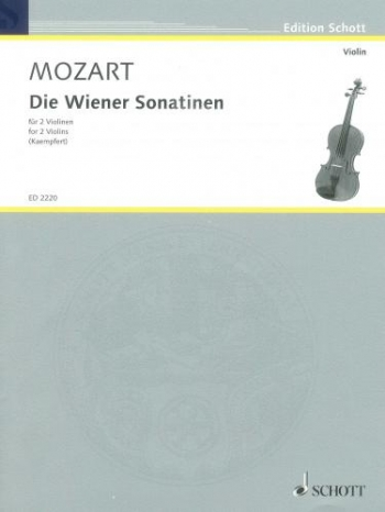 The Viennese Sonatas: Two Violins
