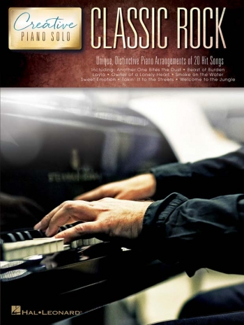 Creative Piano Solos: Classic Rock: Piano Solo