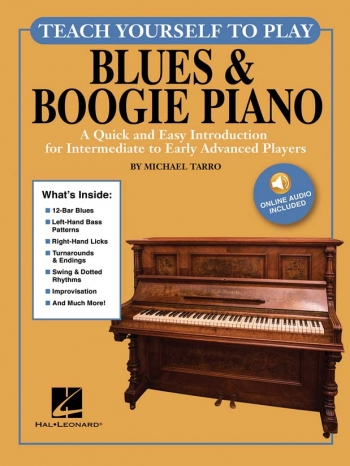 Teach Yourself To Play Blues & Boogie Piano Book & Online