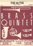 Jive For Five: Brass Quintet: Nagel Arr Holcombe Score & Parts