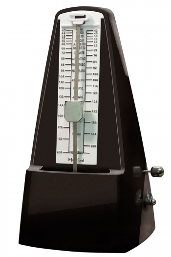 Montford Metronome Pyramid - Gloss Black Finish