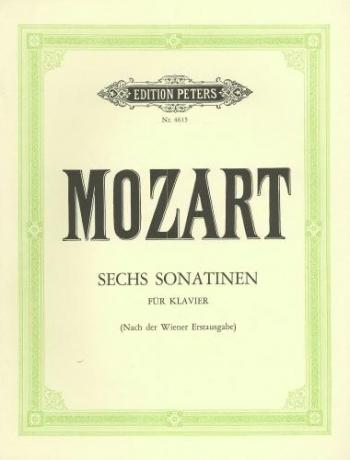 6 Viennese Sonatinas: Piano (Peters)