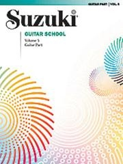 Suzuki Guitar School Vol 5 Guitar Part
