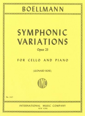 Symphonic Variations: Cello & Piano (IMC)