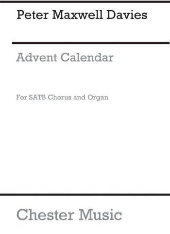 Advent Calendar Satb Choir & Organ (Archive)