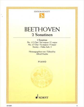 2 Sonatinas: No. 1 G Major, No. 2 F Major Piano