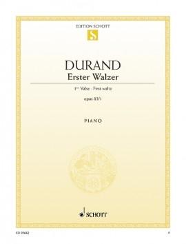 Erster Walzer: Premier Valse: Op.83: Eb Major: Piano (Schott)
