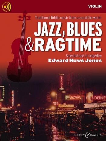 Jazz Blues & Ragtime: Violin Part & CD  (Huws Jones)