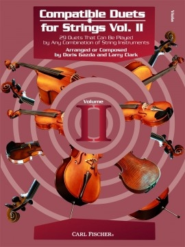Compatible Duets For Strings Vol.II: Viola