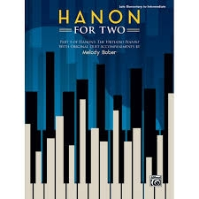 Hanon For Two Part 1: Virtuoso Pianist With Original  Duet Accompanimnets