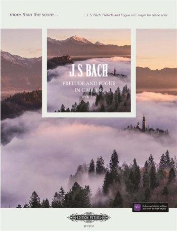 More Than The Score... Bach: Prelude And Fugue In C Major BWV846 Solo Piano (Peters)