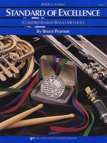 Standard Of Excellence: Comprehensive Band Method Book 2 Tenor Horn