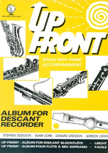 Up Front For Descant Recorder & Piano