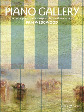 Piano Gallery: 14 Orignal Pieces Inspired By Great Works Of Art  (wedgewood)