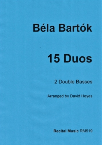 15 Duos For 2 Double Basses (arr David Heyes)