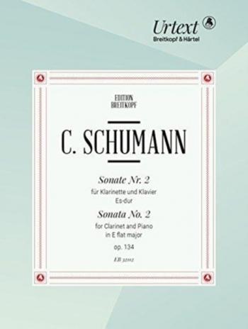Sonata No.2 Eb Major OP.134 Clarinet & Piano (Breitkopf)