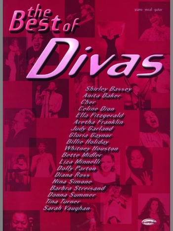 Best Of Divas: Piano Vocal Guitar