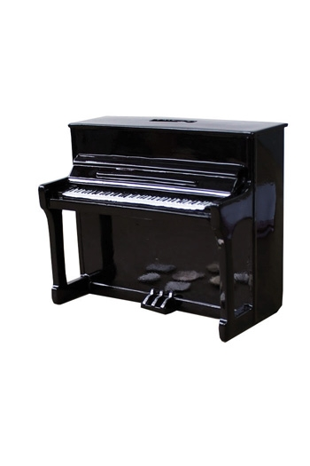 Money Box Piano Black