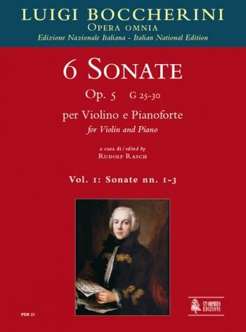 6 Sonatas Vol.1 (sonatas 1-3) Op.5 Violin & Piano  (Orpheus )
