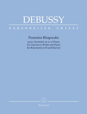 Premiere Rhapsodie: Clarinet & Piano (Barenreiter)