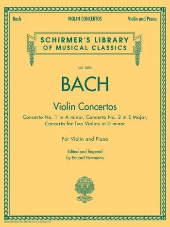 Violin Concertos: Complete: Violin & Piano (Schirmer)