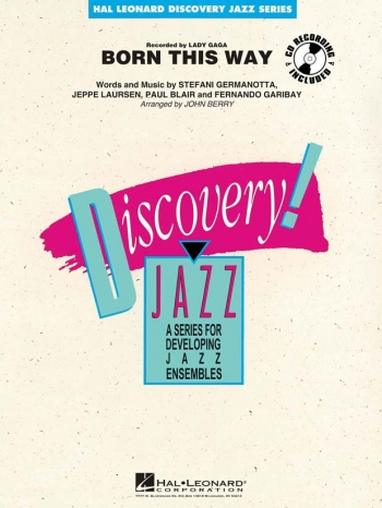 Discovery Jazz: Born This Way: Score & Parts (Murtha)