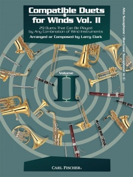 Compatible Duets For Winds Vol.II: Alto Or Baritone Saxophone