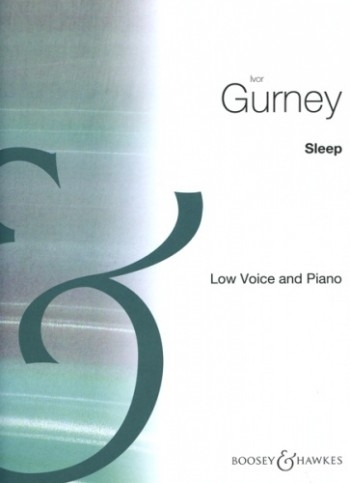Sleep Vocal G Minor: Low Voice & Piano  (B&H)