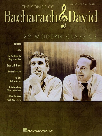 The Songs Of Bacharach & David: Piano Vocal Guitar