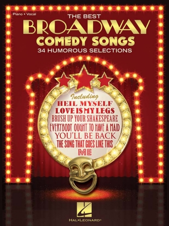The Best Broadway Comedy Songs - Piano Vocal And Guitar
