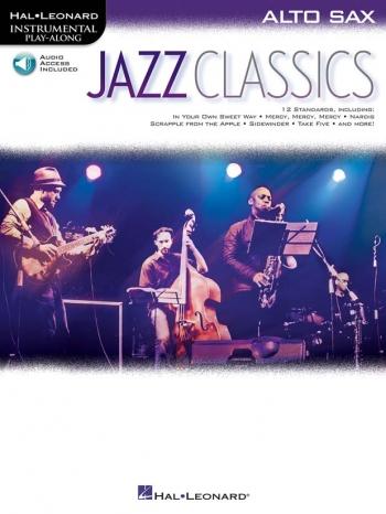 Instrumental Play-along: Jazz Classics: Alto Saxophone: Book & Audio