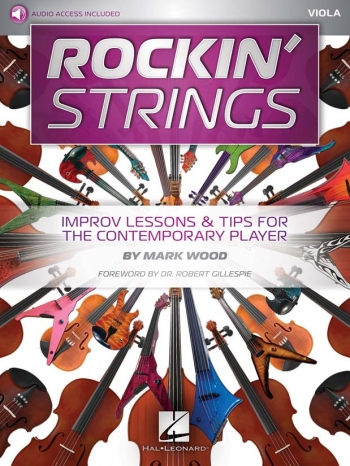Rockin' Strings Viola Book & Audio Download