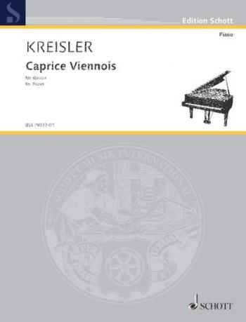 Caprice Viennois: Piano