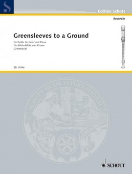 Greensleeves To A Ground: Treble Recorder And Piano
