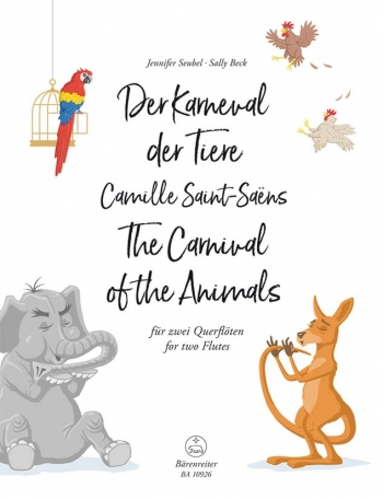 The Carnival Of The Animals For Two Flutes