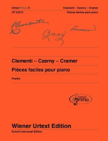 Easy Piano Pieces With Practising Tips - Clementi/Cramer/Czerny 6 (Wiener Urtext)