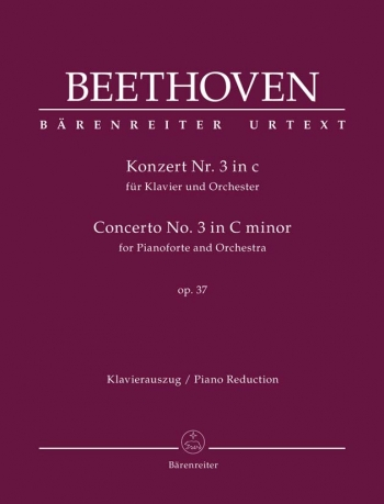 Piano Concerto No.3 In C Minor, Op.37 (Urtext). : Two Pianos (2PF)  (Barenreiter)