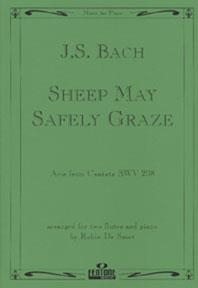 Sheep May Safely Graze (BWV208) Flute Duet